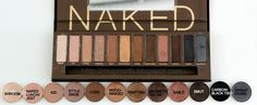 The MAC colors that dupe for Urban Decay's Naked Palette (you can search for tutorials on different makeup looks for the Naked Palette and use either Mac or Wet N' Wild Dupes)... or get the actual palette.