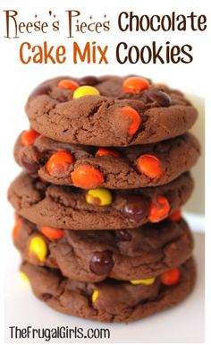 Reeses Cake Mix Cookies Recipe