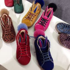 Rabbit tail shoes