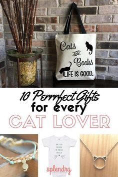 The perfect gift guide for cat lovers!