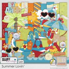 Summer Lovin' by HD Creations #digitalscrapbooking #scrapbooking #stufftoscrap