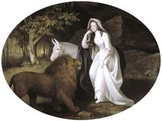 Isabella Salstonstall as Una in Spenser's Faerie Queene - George Stubbs. Spenser's Faerie Queene was one of Keats's favourite books in his library