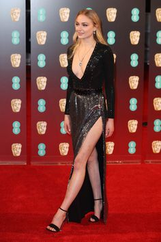 Sophie Turner attends the 70th EE British Academy Film Awards (BAFTA) at Royal Albert Hall on February 12, 2017 in London, England.