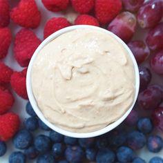 Healthy Peanut Butter Dip   Nourish Your Glow