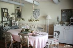 Dream Shabby Chic House in France