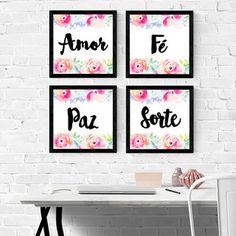 Kit Amor Paz Fé Sorte