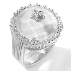 4ct quartz sterling silver cupcake ring a jaron studio