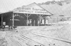 Asphalt History - Port Harford Asphalt Company provided material for paving San Francisco and other Northern California towns   The Tribune