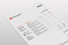 Download Brief  Estimation  Invoice Templates Graphic Templates