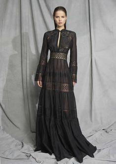 Desfile de moda do Zuhair Murad Resort 2019 - Damenmode - Wintertyp - Style Couture, Haute Couture Fashion, Haute Couture Gowns, Look Fashion, Runway Fashion, Paris Fashion, Fashion Black, Trendy Fashion, Pretty Dresses