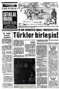 Turkic Languages, Semitic Languages, Turkish War Of Independence, Dna Genealogy, Indian Language, Istanbul, Turkey, History, Newspaper