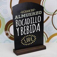 Pizarra de mesa para hostelería by Menu Shop