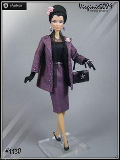 Tenue Outfit Accessoires Pour Barbie Silkstone Fashion Royalty 1130 | eBay