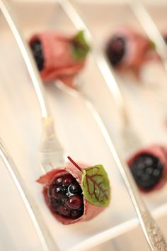 Pepper Seared Duck Breast With Balsamic Marinated Blackberry by Ridgewells Catering