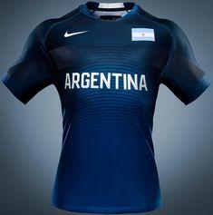 Nike lança uniformes de rugby da Argentina para Rio 2016 - Show de Camisas  Jogos Olímpicos 446f410fbad13