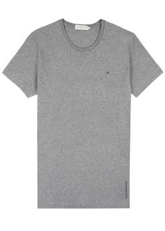 Bron Logo Tee S/S in Grey