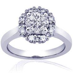 1.15 Ct Round Cut Halo Diamond Engagement Rings Pave CUT:EXCELLENT VVS2 IGI Fascinating Diamonds, http://www.amazon.com/dp/B0064ZBU72/ref=cm_sw_r_pi_dp_D1aYpb0T3GRWT
