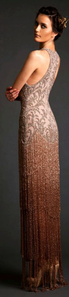 Billionaire Club / karen cox. The Glamorous Life. Evening Dresses: Krikor Jabotian Akhtamar Collection Spring/Summer 2014