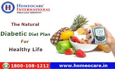 Do you know?? A healthy diet is a way of eating, it includes a wide variety of foods like vegetables, grains and fruits that can reduces risk for complications such as heart disease and stroke. So Know about the natural diabetic diet plan for healthy life and follow with proper medication. Visit Us @ http://www.onlinehomeocare.com/