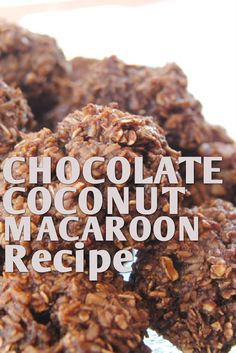 From the saucy new cookbook 50 Shades of Chocolate comes this recipe for addictive chocolate coconut macaroons from award-winning chocolatier Claire Preen. You won't be able to stop eating them!
