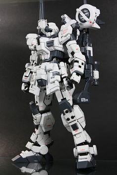 1/100 GM Sniper 'Whitewalker' - Customized Build  Modeled by snglemdia