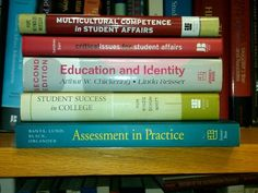 Reading list for student affairs professionals.