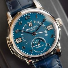 Vintage Watches Most expensive watch in history! The Patek Philippe 5016 in Steel limited to one piece. A final auction price of CHF. Amazing Watches, Beautiful Watches, Cool Watches, Rolex Watches, Patek Philippe, Datejust Rolex, Gentleman Watch, Swiss Army Watches, Man Stuff