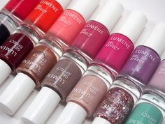 New Lumene Gel Effect nail polishes photographed by blogger Better nail day. #nailpolish #lumene