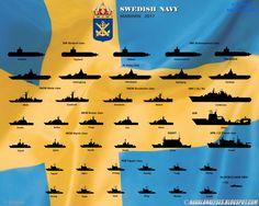Infografías. Marinas de guerra en 2017. | VA DE BARCOS