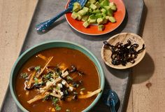 Tortilla Soup....a classic and super fast and easy.