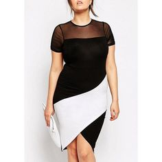 Awesome Semi Formal Dresses Noble Gauze Spliced Color Block Furcal Bodycon Plus Size Dress For Women Check more at http://24myshop.ml/my-desires/semi-formal-dresses-noble-gauze-spliced-color-block-furcal-bodycon-plus-size-dress-for-women/