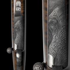 TROMPETER & RITCHI – FINE SCRIMSHAW & GUN ENGRAVING FINE HANDMADE KNIVES - ENGRAVING - RICHARD MAIER - RITCHI MAIER - LUXURY – LEOPARD - LION - ZEBRA – LION FIRE – FIRE & ICE – THUNDER & LIGHTNING – THE IVORY HUNTER – BADEN BADEN