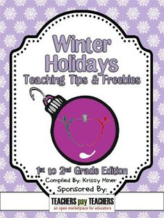 Fern Smith's Classroom Ideas! I'm In the TPT's 2012 Winter Holidays Tips and Freebies eBook: 1-2 Grade Edition $0