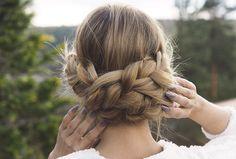 Annettes steg for steg 17. Mai, Prom Hair, Kylie Jenner, Hair Makeup, Hair Beauty, Dreadlocks, Hair Styles, Maj, Tapas