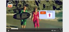 Online marketplace uses video and tagging for interactive promotions