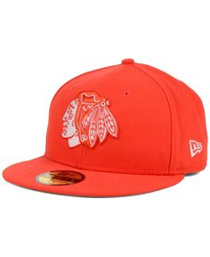 New Era Chicago Blackhawks C-Dub 59FIFTY Cap Men - Sports Fan Shop By Lids  - Macy s 911c78d8d732