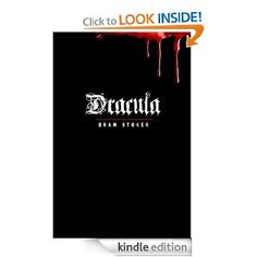 Dracula the classic book by Bram Stocker is one of many classics on my list that I finally am checking off my list thanks to the ease and speed I am reading on my Kindle. A must read for all the vampire fans out there and truly should be on everyone's list. I found it facinating, exciting and a true masterpiece of a book.