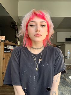 Cut My Hair, New Hair, Hair Cuts, Cheveux Courts Funky, Hair Inspo, Hair Inspiration, Mullet Hairstyle, Mullet Haircut, Hair Reference