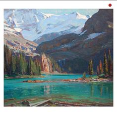 Aldro Hibbard (1886-1972) Lake O'Hara