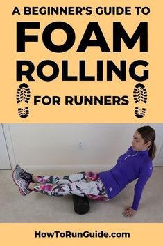 Ever wonder what foam rolling is? Or why runners should do it? Find out exactly how to foam roll and how it improves your running (spoiler alert: you should be doing it regularly. Read all about foam rolling now! Running For Beginners, How To Start Running, Running Tips, Toning Workouts, At Home Workouts, Treadmill Workouts, Stretching Exercises, Hiit, Stretches