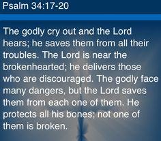 Psalm 34:17-20
