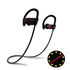 Winter SALE Phone Bluetooth Headset Wireless Waterproof Headsets Headphones Sport Earphones Superb Sound Quality BONUS Convenient Armband QACE Earbuds ** Check out this great product by click affiliate link Amazon.com