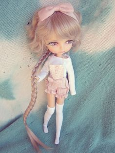 https://flic.kr/p/CGqQ3S | Pretty In Pink | Liladoll held a photo competition and I tied for 2nd place! I couldn't be happier with my prize!! I got the Petite Macaron outift which is by far the best stock of any of the current Lila dolls and I got the rat tail wig in ash blonde and I'm obsessing over it! I chose Berry Bubble Pop Pop bc I was in love with her red hair and amazing makeup, but I gotta admit, she makes a cute blonde too!