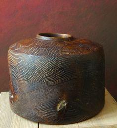 Fritz Baumann #293- Brushed&limed Oak, ∅124cm, H 19 cm