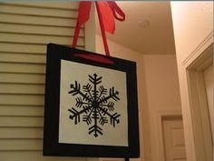 Quick, easy Christmas decor.