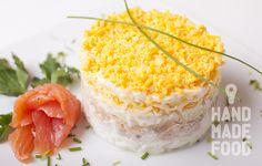 Нежнейший салат Мимоза.