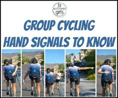 Do you know your group cycling hand signals? We've got what you need to know before a group bike ride!