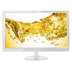 "AOC e2451Fh 24"" Full HD LED-skjerm (hvit)"