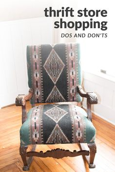 This 5 step guide to buying thrift store furniture will ensure you purchase the perfect piece every time! Diy Furniture Flip, Thrift Store Furniture, Selling Furniture, Chair Makeover, Furniture Makeover, Butterfly House, Antique Chairs, Diy Chair, House Projects