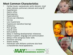 Williams syndrome fact.  www.wschanginglives.org